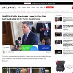 Jim Acosta SHOCKED That Trump WONT Call On Him Anymore