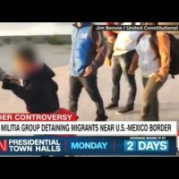 """Armed Militia Group Detaining Immigrants Near The U.S. Mexico Border!"""