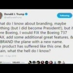 "Trump Tells Boeing How To Fix Their 737 MAX Problem! One Word ""REBRAND"""
