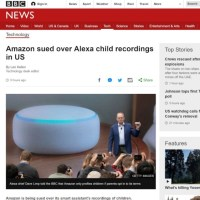 Amazon Is Getting Sued Because Alexa Caught Recording Children