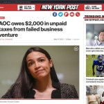 Ocasio Cortez REFUSES To Pay Fair Share, Warrant Issued Over Unpaid Taxes She Refuses To Pay