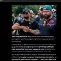 Proud Boys Announce Rally In Portland To Protest Far Left BLM Rioters, Antifa, And The Mayor