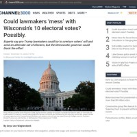 Wisconsin Lawsuit Could Flip EC Results To Trump Finalizing The EC Strategy