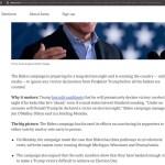 Biden Says Under NO CIRCUMSTANCES Will Trump be Declared Victorious Tomorrow