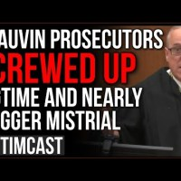 Chauvin Trial Prosecutors Screw Up BIGTIME, Judge Threatens Mistrial, Defense FURIOUS, Riot Expected