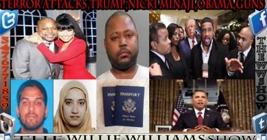 Terror Attacks,Trump,Nicki Minaji,Obama,Guns TheWWShoW