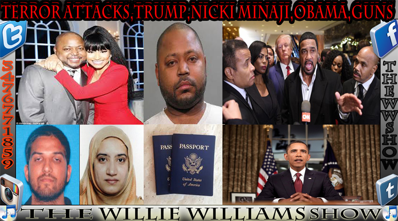 Terror Attacks,Trump,Nicki Minaji,Obama,Guns TheWWShoW