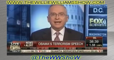 Ralph Peters Calls President Obama a Pu**y Live on Fox News