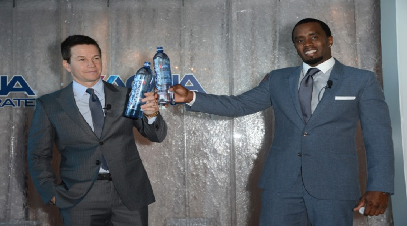 Puff Daddy And Mark Wahlberg Donate 1 Million Bottles Of AQUAhydrate To Flint