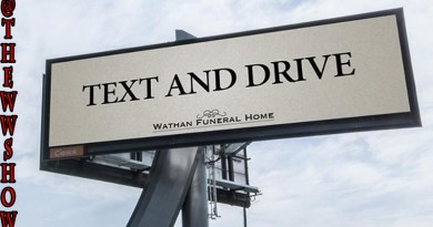 Text And Drive Billboard offends The Public