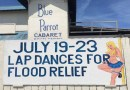 Lap Dances for Flood Victims in Morgantown West Virginia