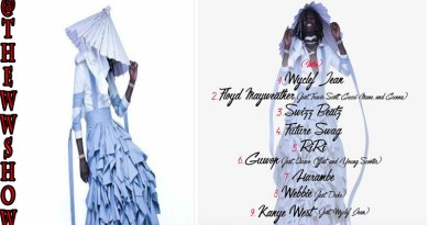 Young Thug In A Periwinkle Ruffled Skirt for his New Album