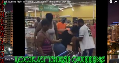 "Black Queens Fight in Walmart, Over Water ""That's What they say"""