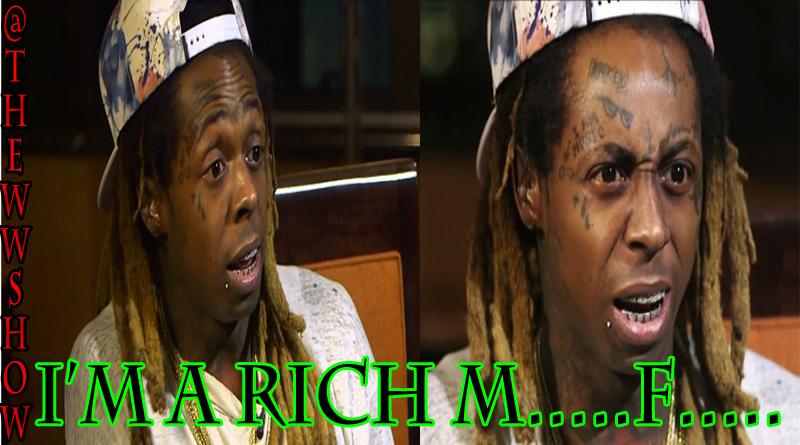 Lil Wayne on #BLM, I'm a Rich MF, Uncle Bob Saved His Life