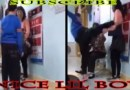"Lil Boy Kicking his Mother ( I Think) and Its Not Black Folks ""Yes"""
