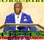 Pastor say These Hoes Ain't Loyal 6-5-2014 #TBT