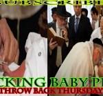 Rabbi who sucks baby's Penis has performed 25,000 Circumcision Ritual 5-13-2014