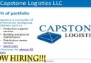 Warehouse Clerk Capstone Logistics Kissimmee, FL 34758 $11 – $13 an hour