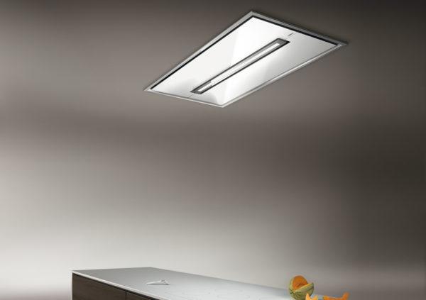Modernong ceiling exhaust design.