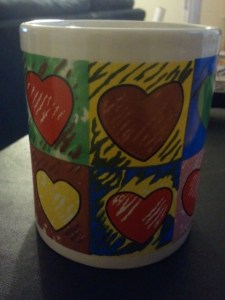 A Cup of Heart for today.