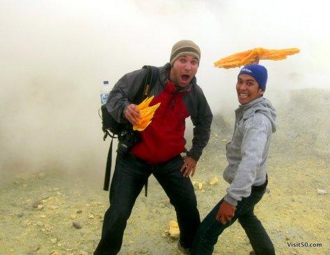 photos from Sulfur Mining at Kawah Ijen volcano in Java, Indonesia   Visit50.com