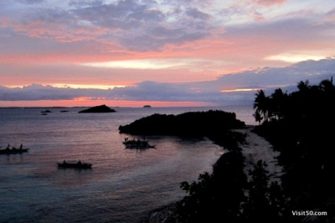 Bohol sunset - Philippines - Visit50