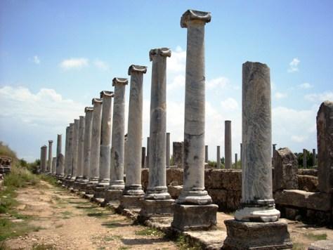 Perge - ruins of Antalya, Turkey