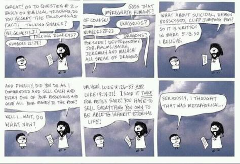 cartoon - bible