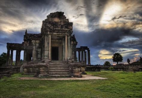 The Library at Angkor Wat.