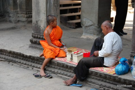 a youthful monk learns to read the future
