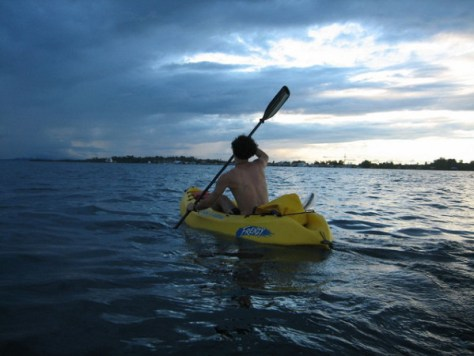 Kayak around the islands! If you're island Hopping in Bocas, take a kayak as a new way to experience the area