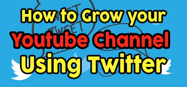 How to Grow your Youtube Channel using Twitter