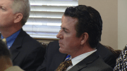 Papa John's International founder and CEO John Schnatter at a meeting of the University of Louisville board of trustees, of which he was a member. April 26, 2017