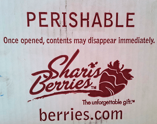 Shari's Berries Sent Me Two Dozen Delicious Chocolate Covered ...