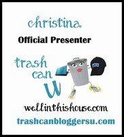 Trash Can U Presenter Badge