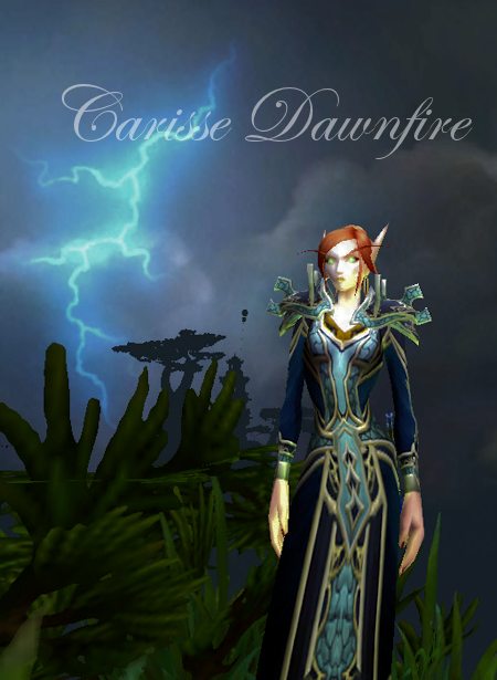 Carisse Dawnfire in the Jade Forest