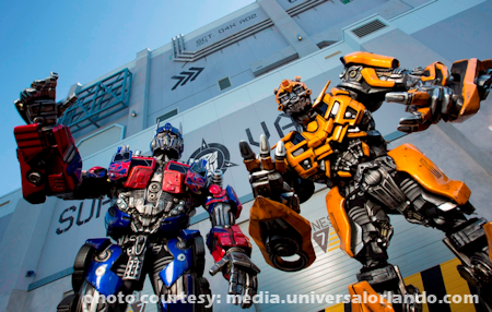 Transformers - The Ride