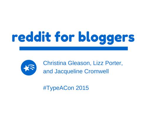 reddit for bloggers
