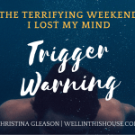 Trigger Warning: The Terrifying Weekend I Lost My Mind