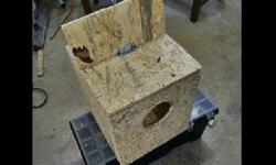 fabriquer un nid pour perruche