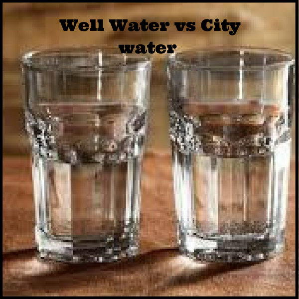 Well Water vs City water