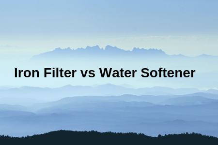 Iron Filter vs Water Softener image
