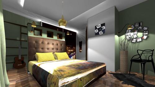 Rénovation et décoration d'une chambre parentale à Noisiel