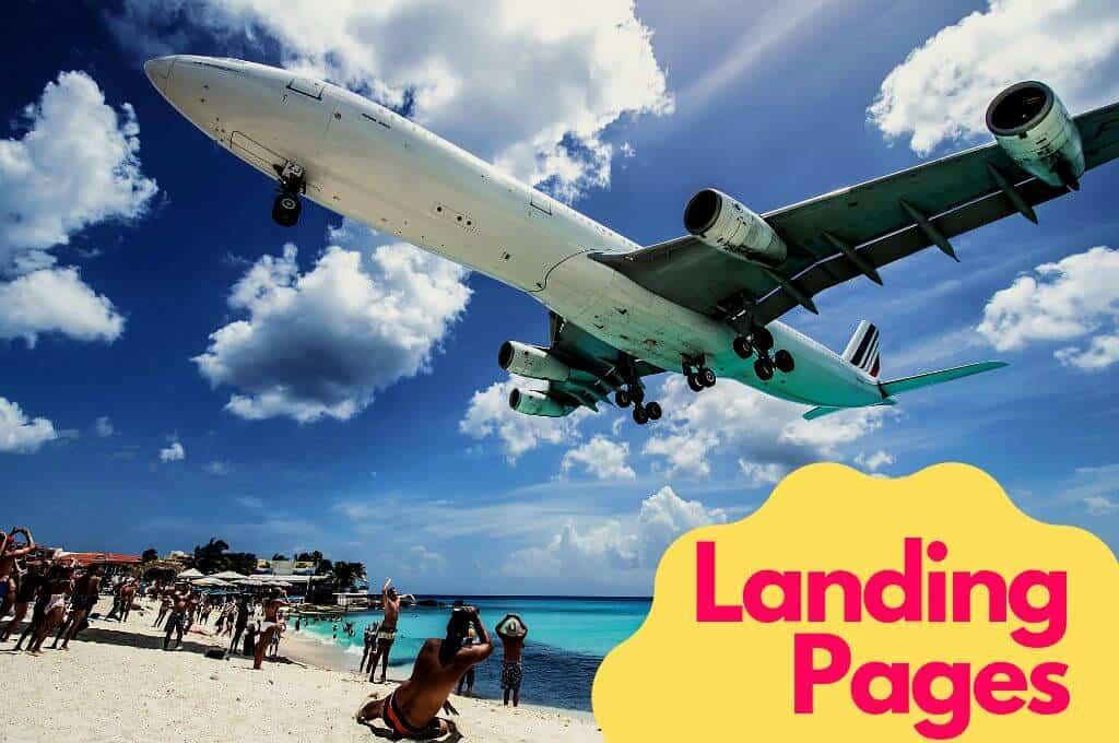 Landing Pages Ocean marketing