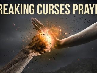 breaking curses prayer