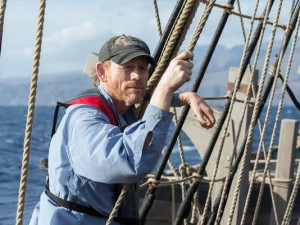 Ron Howard setting set sail...In the Heart of the Sea.