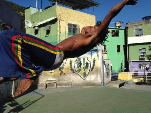 Capoeira ist Nationalsport in Brasilien