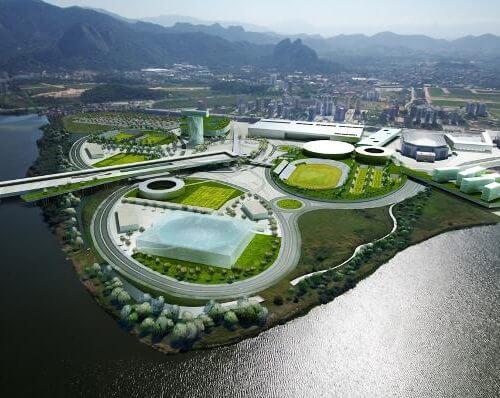 Beeindruckend: Das Olympische Dorf