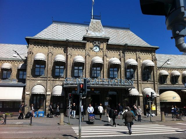 der Hauptbahnhof in Göteborg