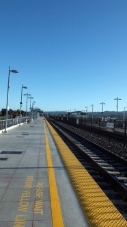 Am Bahnhof in San Francisco